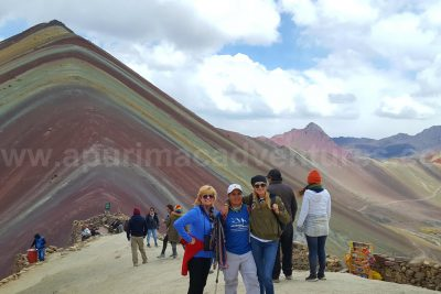 amazing rainbow mountain Vinicunca